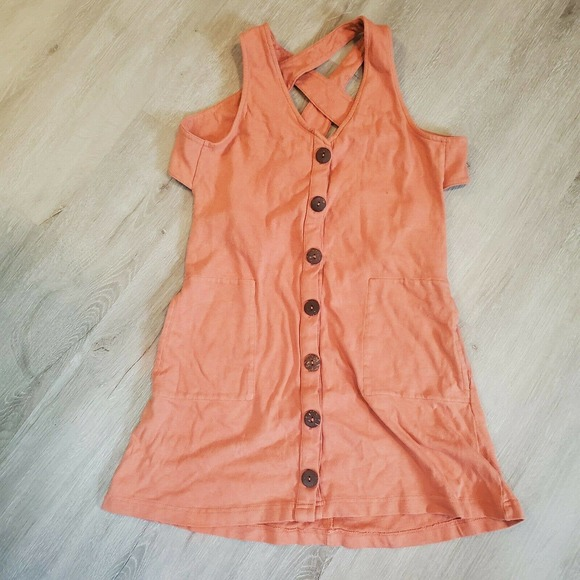 Free People Beach Strappy Mini Dress Cover Up Women's Size XS